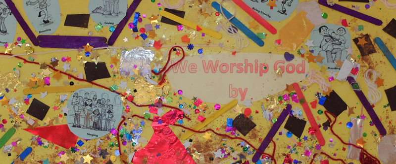 We Worship God By...